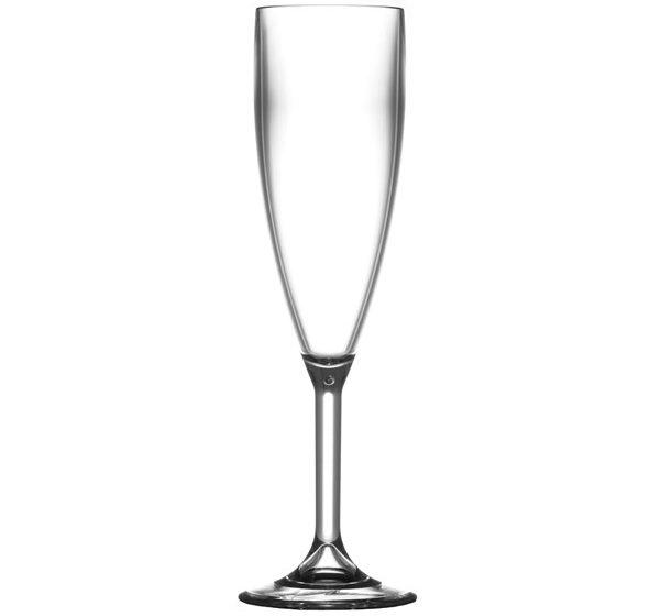 Champagneglas okrossbart 18 cl