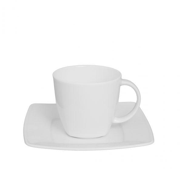 Espressokopp med fat [V]