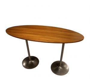 Ståbord ovalt VALNÖT
