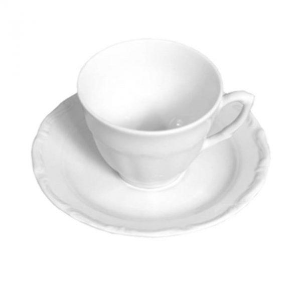 Kaffekopp med fat [M]