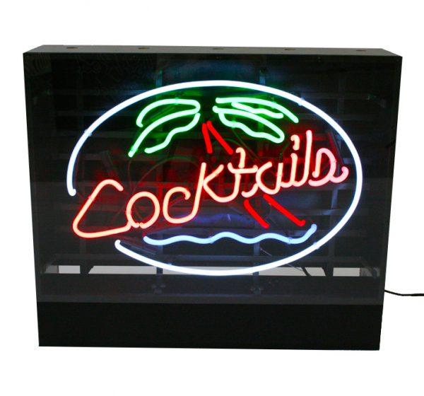 Neonskylt Cocktail