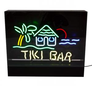Neonskylt Tiki Bar