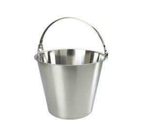 Rostfri hink, 10 liter