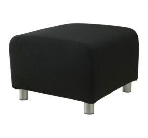Sittpuff, IKEA, SVART