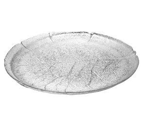 Tårtfat i glas BLAD 30 cm Ø