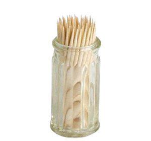 Tandpetshållare inkl. stickor