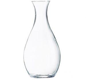 Vinkaraff rund 1 liter GLAS