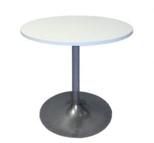 Runt bord Ø 70 cm VIT