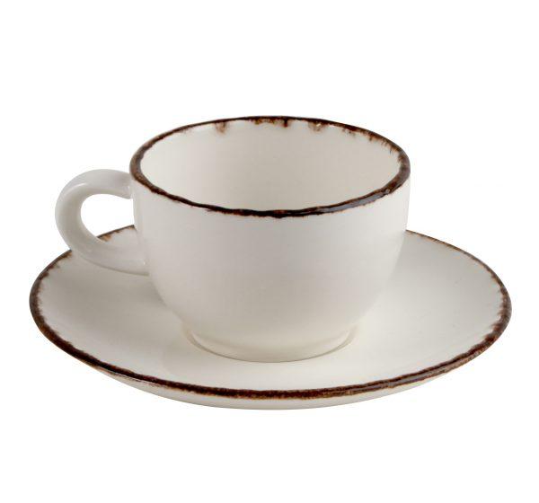 Kaffekopp med fat