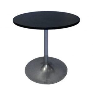 Runt bord Ø 70 cm SVART
